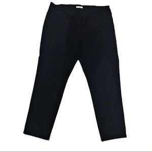 Eileen Fisher Large Black Ankle Jeans Pants